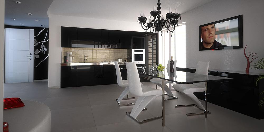 Appartamento standard (pavimento grigio chiaro)